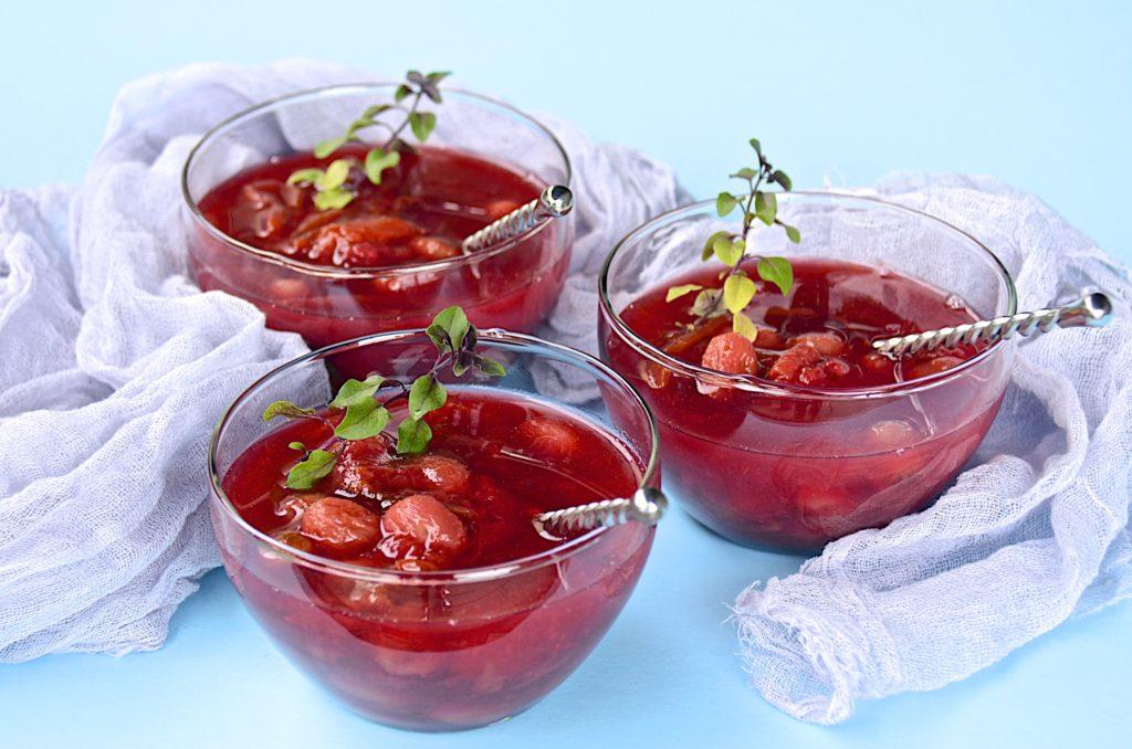 Vin Santo fruit compote