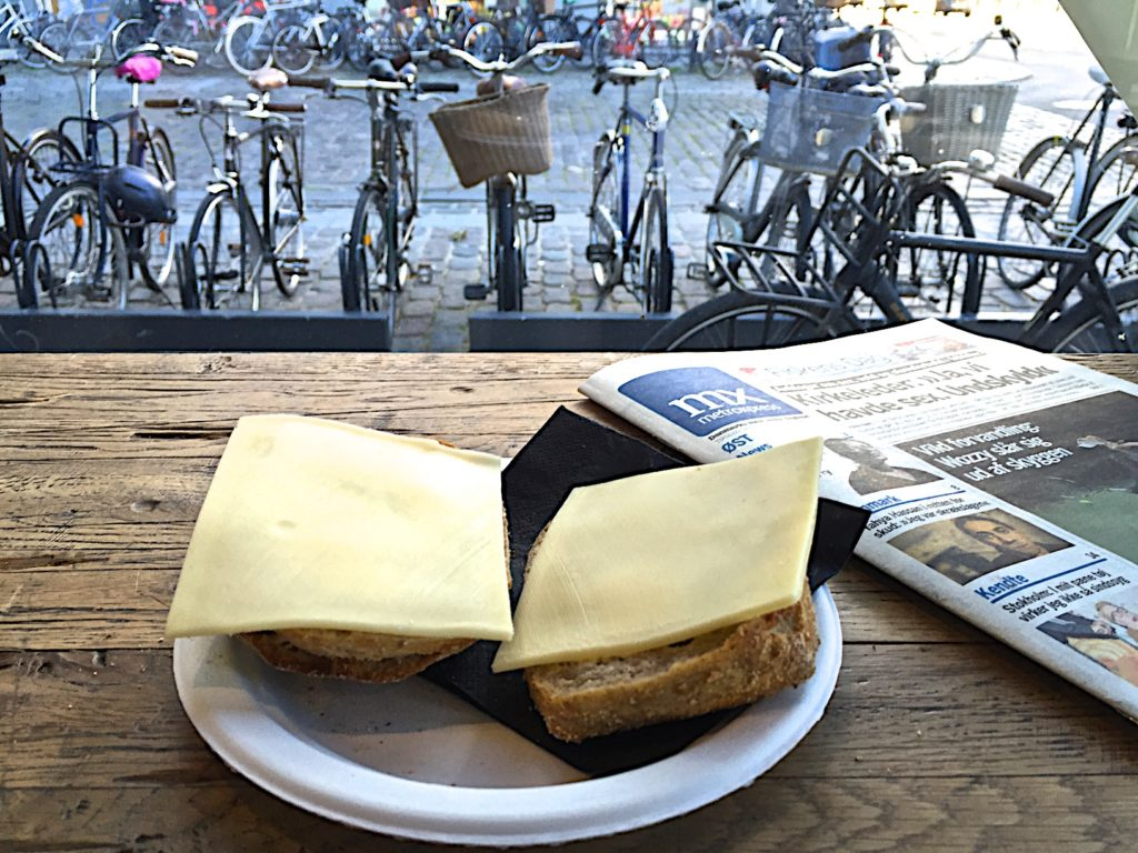 Cheese toast breakfast, Copenhagen