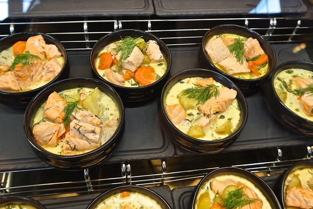 Lapland Salmon soup