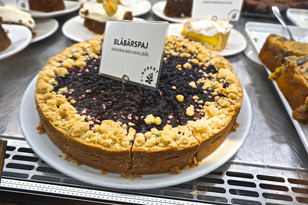 Sweidish Blueberry pie