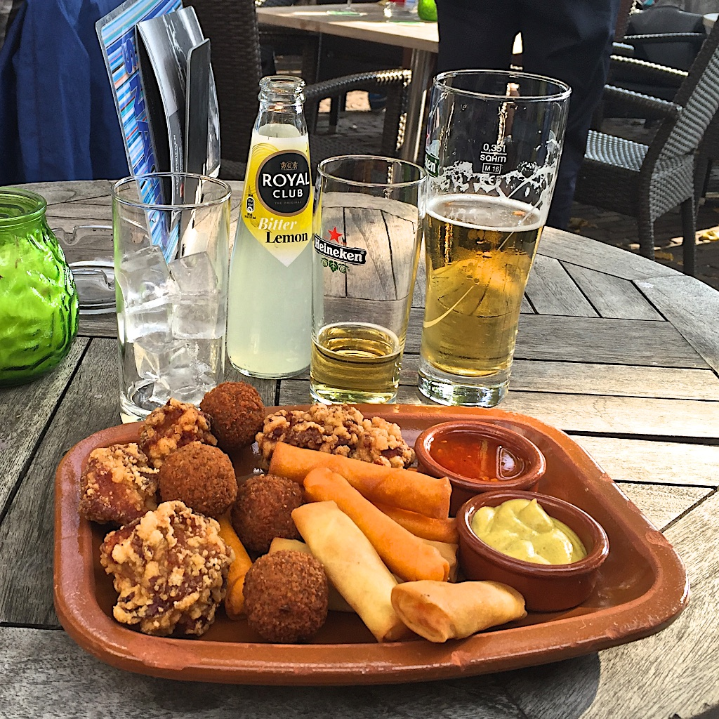 "Traditional ""beer food""ppies at the Hague"
