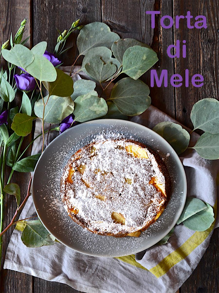 Torta Di Mele Italian Apple Cake Olive Oil And Lemons