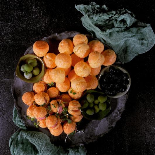Gougeres (cheese puffs)