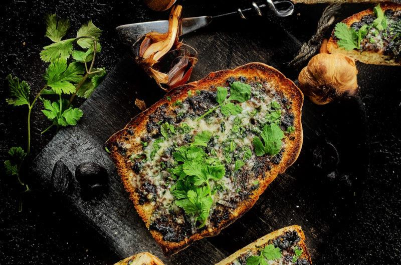 Ciabatta garlic bread