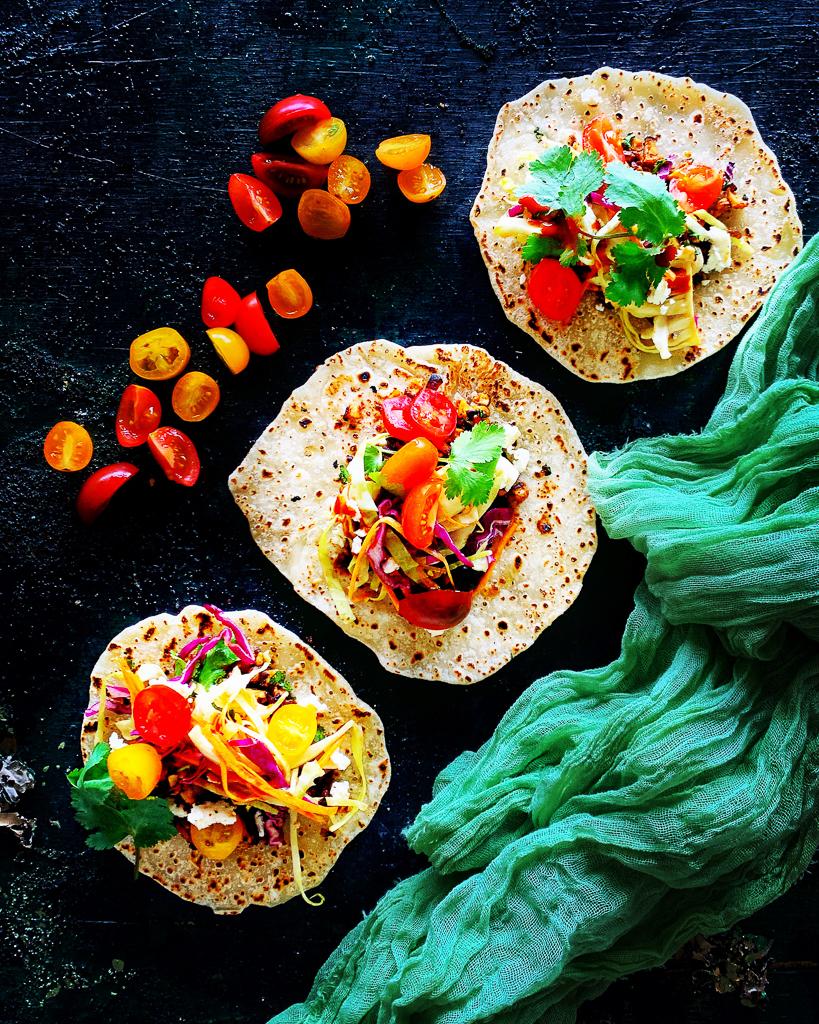 Vegetables Tacos