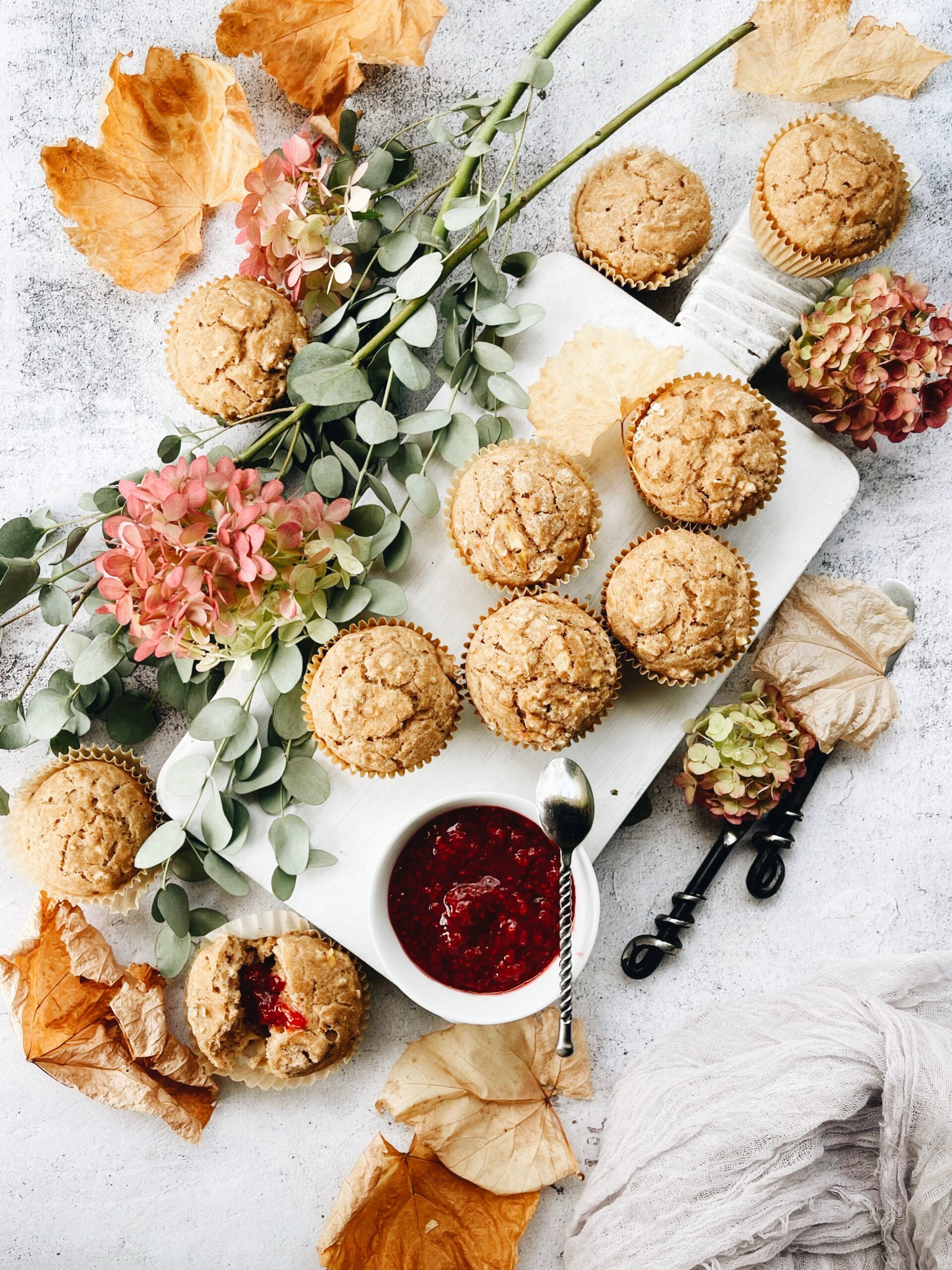 Plant based oil free muffins